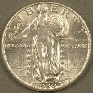 Coin Grading - No Break in Luster