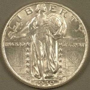 Coin Grading - No Break in Luster