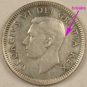 Coin Grading - Breaks in Lines