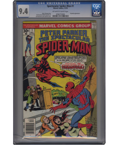 Comic Book Grading - NM 9.4